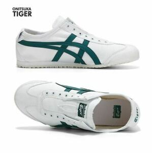 Details zu Asics Onitsuka Tiger Mexico 66 White Green Fashion Sneakers,Shoes 1183A360 102
