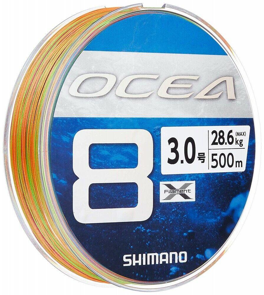 Shiuomoo Ocea 8 3500M 28.5kg28.6Kg MultiColoreeee 8 Treccia Pe Linea 647757 Japan