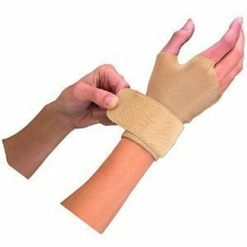 Mueller 6903 Compression & Support Arthritis Carpal Tunnel Glove Medium Beige Ea
