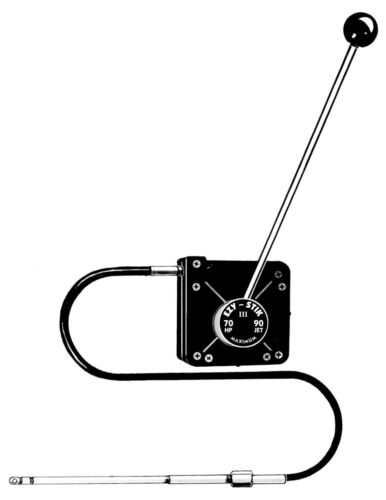 Ezy Glide Stik Steering  Model 840  II 9/'  or 9.5 Ft Stick Steering