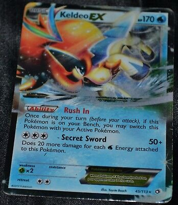 Pokemon TCG 1x  Keldeo EX 49//149 Ultra Rare NM Fast Shipped!