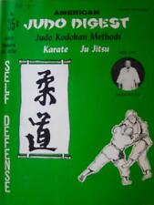 RARE 8/61 AMERICAN JUDO DIGEST MITCH MILLER KODOKAN  JIUJITSU KARATE MARTIAL ART