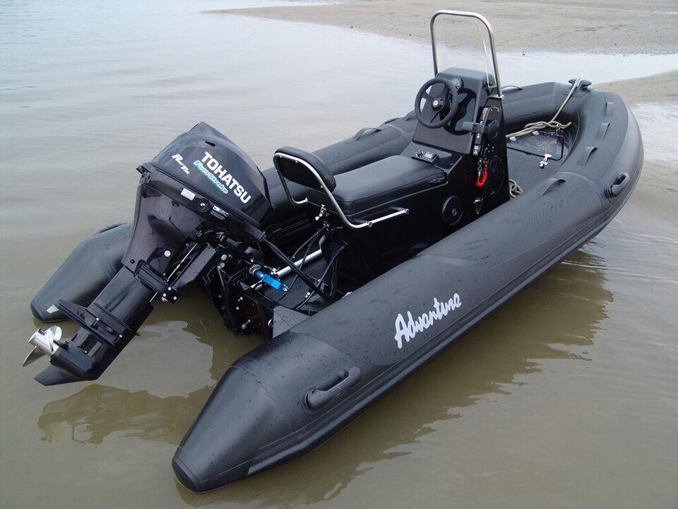 Adventure Rib, V-380, med Yamaha 25 HK påhængsm...