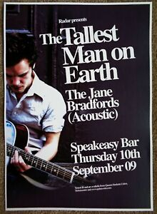 TALLEST-MAN-ON-EARTH-2009-Gig-POSTER-Belfast-Ireland-Concert