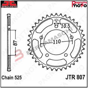 A56080745-JTR807-45ZBK-CORONA-TRASMISSIONE-JT-SPROCKETS-807-Z45ZBK