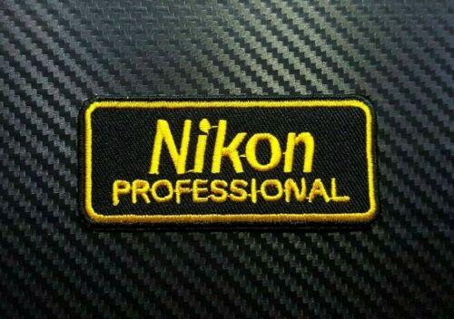 NIKON CANON KODAK CAMERA LENS PHOTO FILM CAP Embroidered Iron Sew On Patch Logo