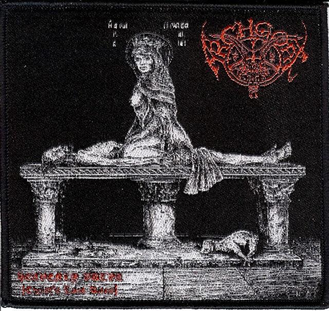 Archgoat - Heavenly Patch Black Metal Blasphemy Revenge Conqueror Bathory Venom