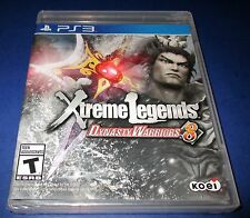 Dynasty Warriors 8: Xtreme Legends Sony PlayStation 3 *New! *Sealed! *Free Ship!
