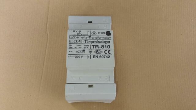 #2409 zaMel ETZ-70 Elektronischer Transformator 12V 70W Power supply Trafo
