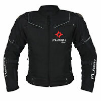 Motorcycle Motorbike Jacket CE Armoured Waterproof - High Visibility