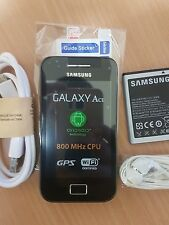 SAMSUNG GALAXY ACE GTS5830i MOBILE PHONE ON EE/T-MOBILE/ORANGE BLACK UK