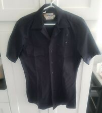 Elbeco police fire ems uniform SS shirt 100% wool LAPD navy size 15