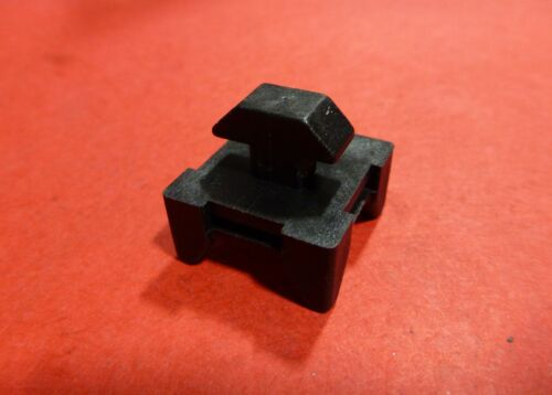 P//N AC-015-A TNUTZ T-Slot BLACK Nylon 1//4-Turn Drop-In Cable Tie 15 Series