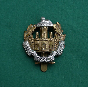 The-Essex-Regiment-100-Genuine-British-Army-Military-Cap-Badge