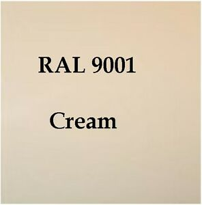 ral 9001 high quality cellulose paint cream 2 5l free strainer tack rag ebay. Black Bedroom Furniture Sets. Home Design Ideas