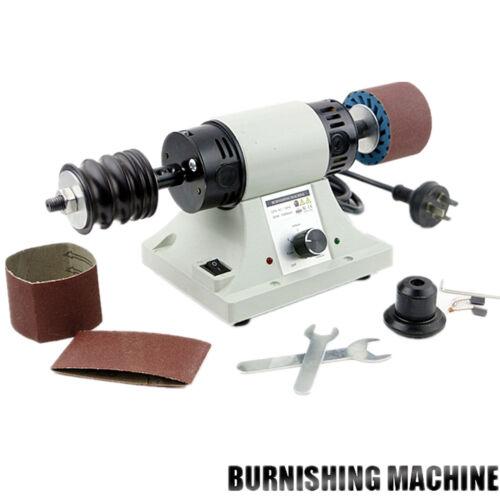 110 V Cuir Rodage Polissage Machine Cuir brunissoir machine 0-8000 tr//min