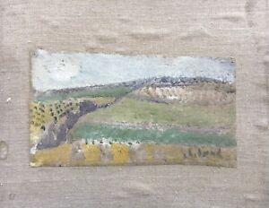 Poul-Ekelund-1921-1976-Danish-Modern-Landscape-Sketch-Study-14-x-27