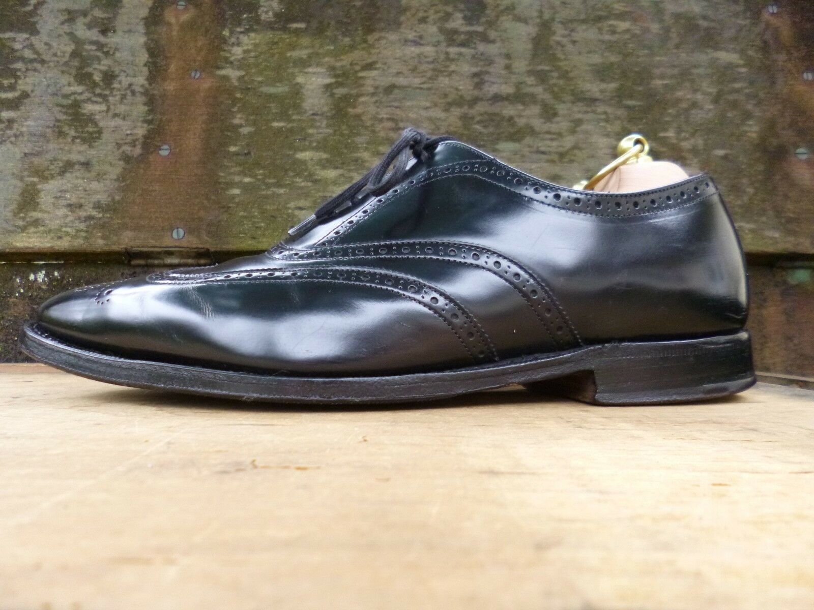 CHURCH OXFORD BROGUES BROGUES OXFORD - schwarz – UK 6.5 – NEW YORK - EXCELLENT CONDITION 70d12d