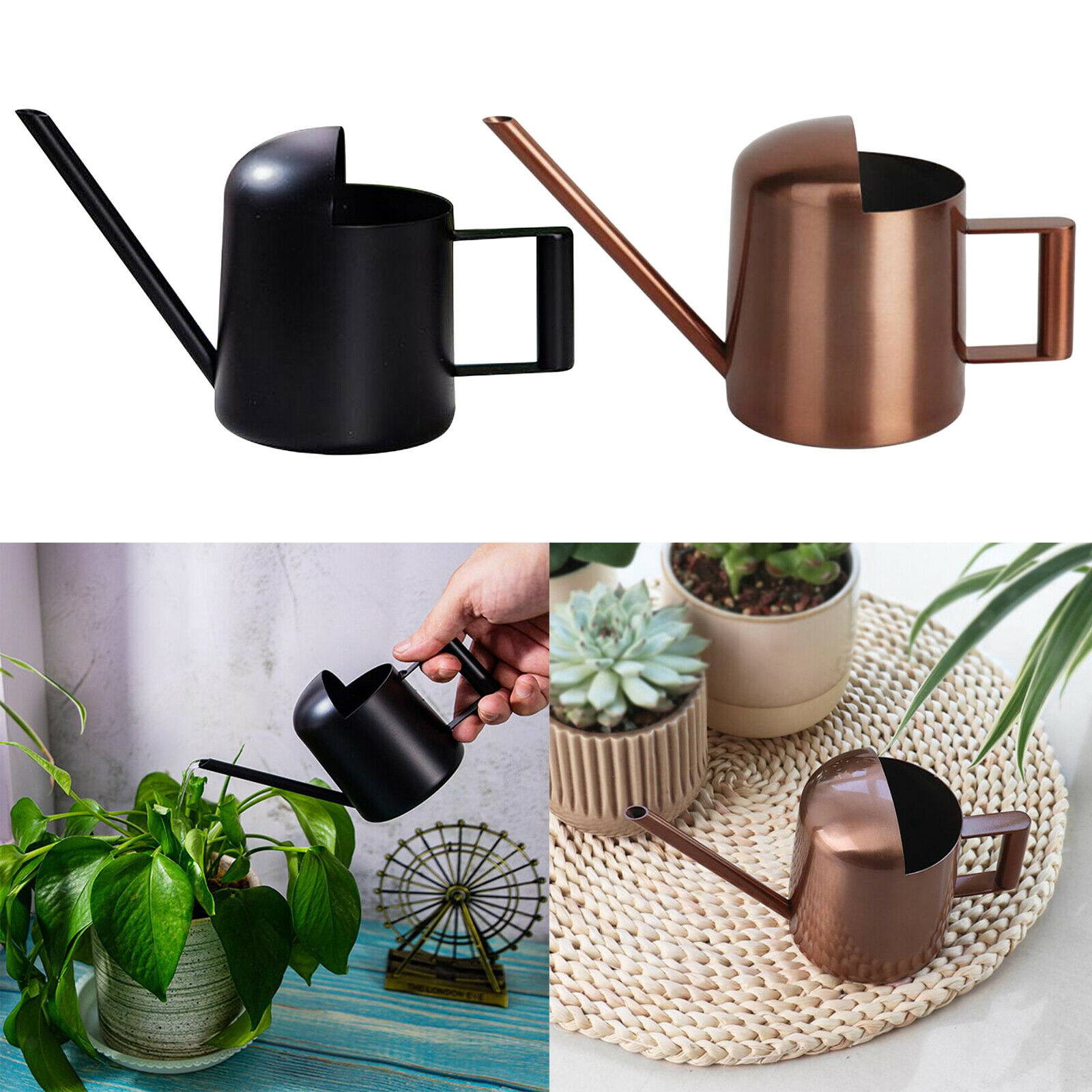 Long Spout Watering Can Indoor Sprinkling Pot for Bonsai Succulent Plants