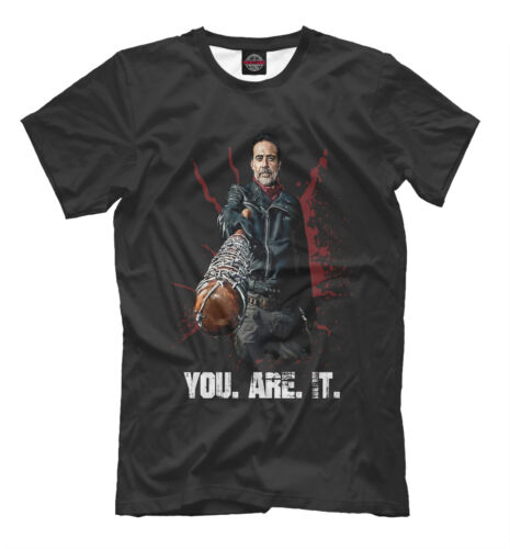 Negan t-shirt The Walking Dead character tee You are it