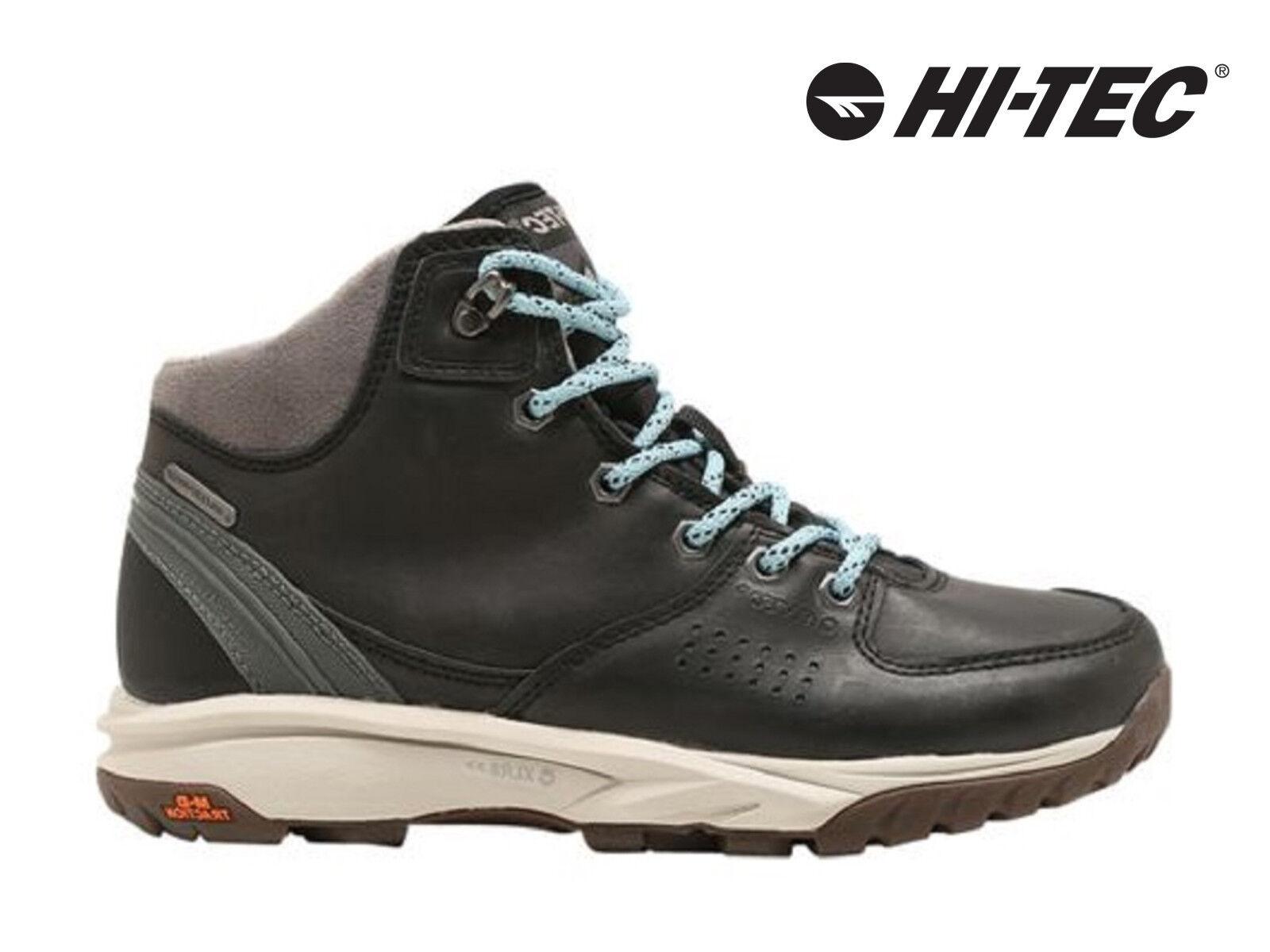 Womens Hi-Tec Wildlife Lux Waterproof Walking Hiking Boots Mid Trekking shoes