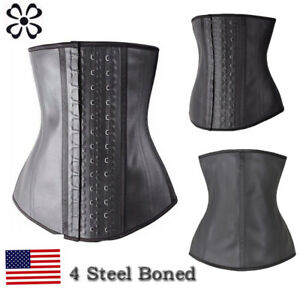 a9e06c5608a Image is loading Fajas-Reductoras-Colombianas-Body-Shaper-LATEX-Waist- Trainer-