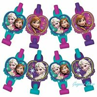 Disney Frozen (8) Blowouts Elsa & Anna Birthday Party Supply Favors Prizes Decor