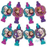 Disney Frozen (8) Blowouts Elsa & Anna Birthday Party Supply Favors Prizes Decor