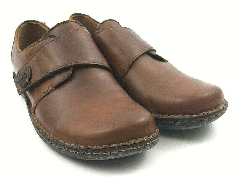 Born Concept B.O.C. C40048 Colleta Brown Slip On Casual Comfort Shoes Women's 6M