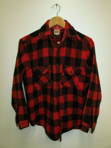 VINTAGE! Men's SWEET - ORR Buffalo Plaid Wool Work