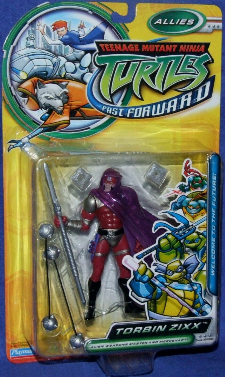 Teenage Mutant Ninja Turtles 5  Fast Forward Torbin Zixx NEW Factory Sealed 2006