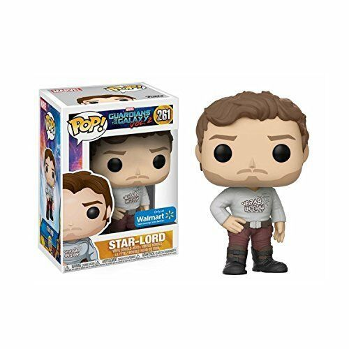 Funko 21460 Figur POP Marvel Guardians Of The Galaxy 2 STAR-LORD with Gear Shift