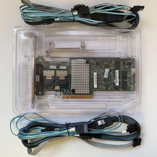 2PCS 8087 SATA LSI MegaRaid 9270CV-8i 1GB Cache SAS SATA RAID PCIe 3.0 6Gbps