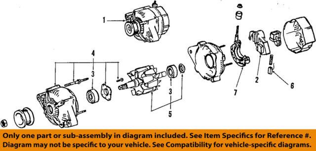 For Toyota Supra Cressida Remanufactured Oem Alternator Ebayrhebay: 1991 Toyota Supra Engine Diagram At Gmaili.net
