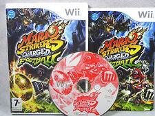Nintendo Wii & Wii U Mario arietes cargado fútbol-PAL-COMPLETO
