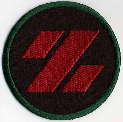 """Z Force GI Joe Action Force 3/"""" Embroidered Iron-On Patch Ground Assault"""