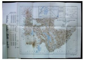 1913-Jack-MUFUMBIRO-MOUNTAINS-Virunga-Volcanoes-EAST-AFRICA-Color-Map-6
