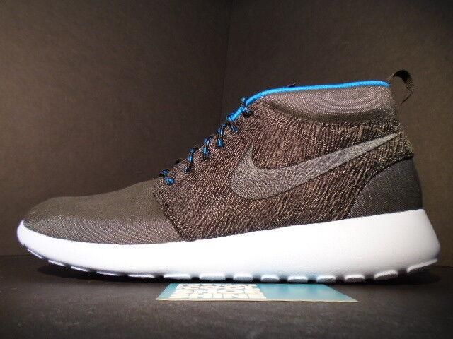 Nike para correr roshe ROSHERUN París Mid Qs París ROSHERUN ciudad Pack Anthracite Negro Azul Hero Ds 9.5 6034c0