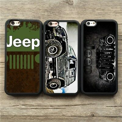 buy online f3dee 642fe Jeep Off-Road Vehicle Rubicon TPU Silicone Phone Case Cover For iPhone 6 8  Plus | eBay