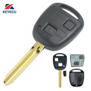 Details about Remote Car Key Fob 2 Button 433MHz 4C for Toyota RAV4 Corolla  Yaris P/N:60081