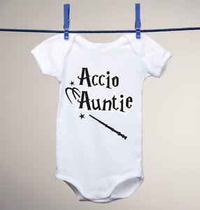 1edf6feeb Accio Auntie, Harry Potter Inspired Baby on a Gerber Onesie ...
