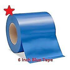 "Heat Shrink Tape Boat Shrink Wrap Tape 6 Inch 6/"" X 180/' Blue Shrink Wrap Tape"