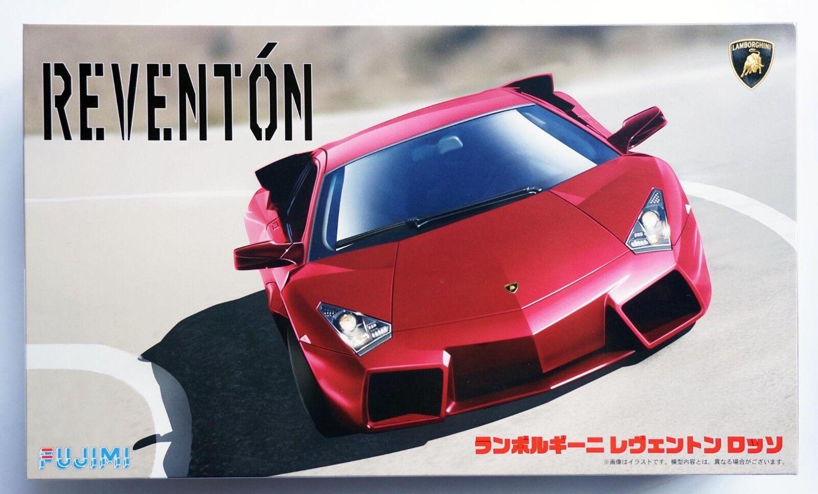 FUJIMI 1 24 Lamborghini Reventon red real sports car RS-61 scale model kit