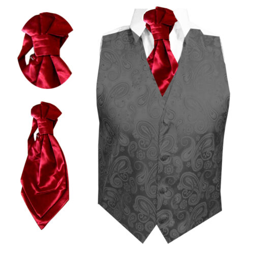 Pre Tied New Italian Plain Satin Cravat For Boys /& Babies