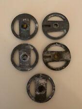 Articulator Metal Mounting Plates 2 Pair 1 Piece Used Dental Lab Equipment
