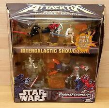 Star Wars Transformers Attacktix Battle Figure Game Set Intergalactic Showdown