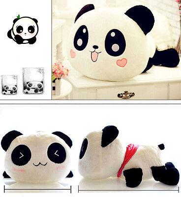 "Cute Plush Doll Toy Stuffed Animal Panda Pillow Quality Bolster As Gift 20cm 8"""