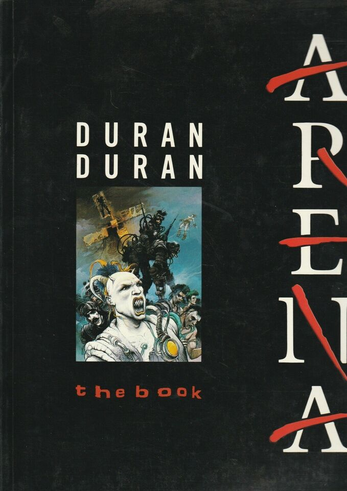 Duran Duran The Book Arena, Neil Norman m.fl., emne: musik