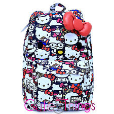 item 3 Sanrio Hello Kitty School Backpack with 3D Bow and Ears All Star  Loungefly -Sanrio Hello Kitty School Backpack with 3D Bow and Ears All Star  ... 0d71726de0
