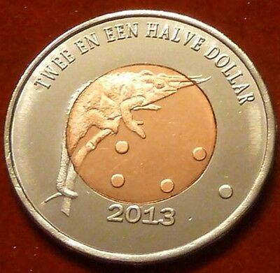 fantasy coinage BONAIRE 25 Cents 2013 Turtle